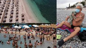 Rozestupy ve vodě i na pláži, roušky a rukavice. Jak bude dovolená u moře letos vypadat?