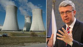 Vláda tajně schválila pravidla dostavby Dukovan, vyšachují z elektrárny Rusko a Čínu?