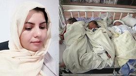 Po krvavém útoku začala kojit sirotky z Kábulu. K mladé mamince se přidaly další ženy