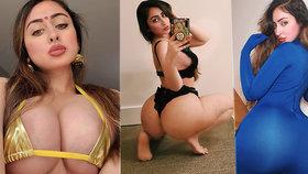 Instagramovou krásku potrápila zpackaná plastika zadku: Nemohla si půl roku sednout!