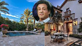 Rambo prodává honosné sídlo: Sylvester Stallone přijde o 28 milionů!