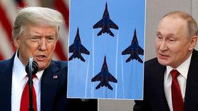 USA vystupují z vojenské dohody, Trump zavírá nebe pro Rusko i Česko. Už žádné přelety