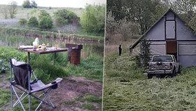 Rybaření u rybníka skončilo hromadnou popravou: Opilec po hádce povraždil sedm kamarádů