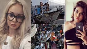 Při havárii v Pákistánu zemřela i slavná modelka: Překvapivé pouto s pašeračkou Terezou