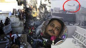 """Video zachytilo explozi letadla. Cestující ze """"zázračných"""" sedadel horor přežili"""