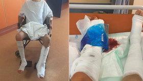 Záchranář Marek rozvážel nákupy seniorům: Měl vážnou nehodu! Kolegové žádají o pomoc