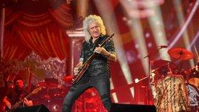 Kytarista Queenů Brian May (72): Prodělal infarkt! Jak na tom je?