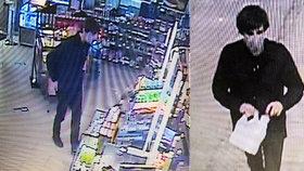 Opilec si v Plzni zdříml na lavičce: Drzý zloděj ho prošacoval a okradl! Nepoznáváte ho?