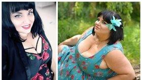 Veronika s velikostí 56 inspiruje baculky: Neskrývejte se v neforemném oblečení!