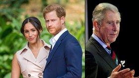 Drsná dohoda pro Meghan s Harrym: Co musí udělat, aby jim Charles platil ochranku?!