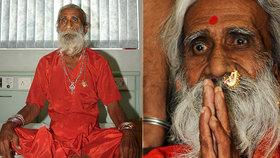 Zemřel jogín Prahlad (†90): Tvrdil, že 80 let nic nejedl a nepil