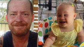 Otec nechal dcerku (†4) s Downovým syndromem napospas smrti. Její tělíčko ohlodali potkani
