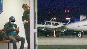 Drama na pražském letišti! Letadlo nemělo povolení a vůbec nekomunikovalo, přistálo na zavřené dráze