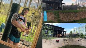 Zpěvák zahradníkem? Václav Noid Bárta vypočítal četná zranění z práce kolem domu!