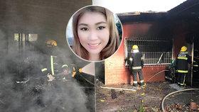 Žena vběhla do hořícího domu, aby zachránila svá štěňátka: Sama pak v plamenech našla smrt!