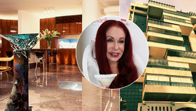 Módní návrhářka Blanka Matragi uvízla v Libanonu: Má tam palác jako perské princezny!