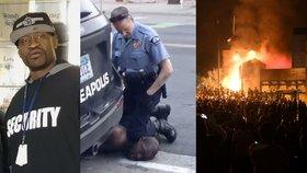 Policistu za smrt černocha viní z vraždy. Protesty v USA sílí, politici volají po trestu