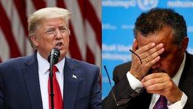 Trump odstřihl Světovou zdravotnickou organizaci od amerických peněz. Kvůli Číně