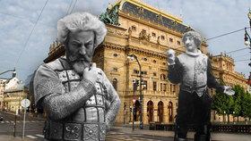 Chtěl se zabít, pak se stal nejslavnějším hercem: Před 100 lety zemřel Eduard Vojan (†67), pojmenovali po něm park