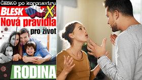 Pomoc pro rodiny ohrožené koronavirovou krizí: Příručka dnes ZDARMA v Blesku!