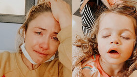 Dcerka (†3) hvězdy instagramu zemřela na vzácnou formu rakoviny: Měla nádor na mozku