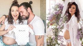 Těhotná Arichteva řekla, jaké jméno dítěti vybrala: Tvrdá konkurence pro Bagárovou!