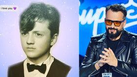 Archivní fotky porotce SuperStar Čekovského: Tenhle roztomilý chlapec je skutečně on?!