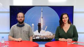 Srážky družic i znečištění oběžné dráhy: Expert o Crew Dragon i o dobývání vesmíru