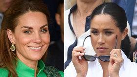 Svatá Kate a zlá Meghan? V královské rodině panuje dvojí metr!