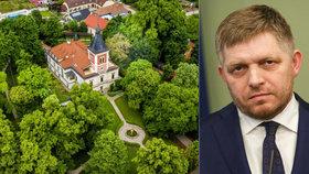 Takhle si žije expremiér: Fico bydlí v luxusním zámečku s výhledem na Karpaty