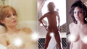 Sexsymbol Angelina Jolie slaví 45 let: Nejhanbatější fotky! Od 16 let eroticky provokuje