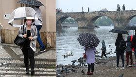 Bouřky a lijáky hrozí i o víkendu, deštníky se budou hodit. Sledujte radar Blesku