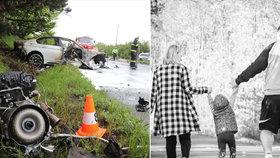BMW gang po tragédii u Černožic opět řádí! O osiřelou Viktorku se prý perou příbuzní