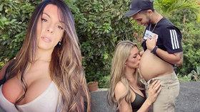 Sexy trans modelka, co byla mužem, čeká dítě: Těhotný je její manžel!