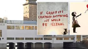 Výstava tajemného Banksyho bez Banksyho? V pražské Galerii Mánes uvidíte jeho nejznámější díla