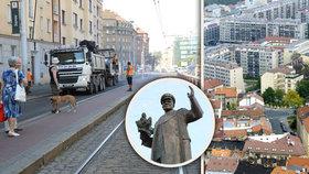 Konec Koněvovy ulice v Praze? Vznikla petice i anketa, lidé volají po Hartigově, Poblité nebo K Pornokinu