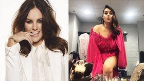 Ewa Farna se nečekaně odhalila: Co vyklouzlo z růžových šatů?