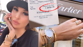 """Rozhazovačná """"Queen"""" Plačková na nákupech: Za odpoledne rozfofrovala 800 tisíc!"""