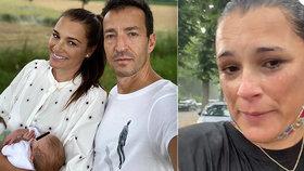 """Miss mokré """"kojící"""" tričko Šeredová: Mráčky v ráji! Výlet se jí nevyvedl"""