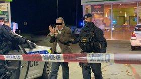Střelba na Pražském okruhu! Opilec (63) hrozil taxikáři zbraní, vypálil a ujel