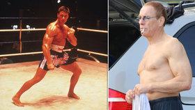 Bývalý akční hrdina Jean-Claude van Damme: Brýle, čepice a cigárko! Poznali byste ho?