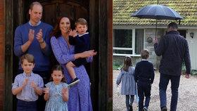 Babička Diana (†36) by byla pyšná: Nádherné gesto Williamových dětí!