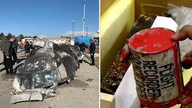 Vyšetřovatelům případu sestřeleného letadla chybí černé skříňky. Írán si diktuje podmínky