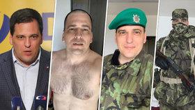 Europoslanec sundal oblek a navlékl maskáče. Lehčí o 14 kilo prošel Zdechovský vojenský kurz
