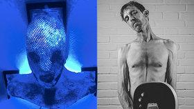 Dvakrát porazil rakovinu! Britský muzikant Lavash žijící v Praze má doma z léčby zajímavý suvenýr