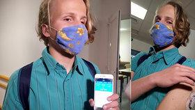Výhra nad cukrovkou: Benjamin (16) si jako první nevidomý v ČR dávkuje inzulin do těla mobilem