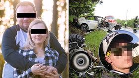 Petr (†26) při nehodě u Černožic zabil Viktorce (4) rodiče! Jeho táta chce holčičce pomoci