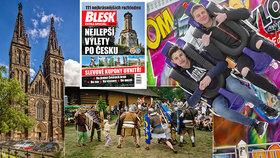 Tipy na víkend: Noc kostelů, letní Matějská, otevřený Tančící dům i rozhledny Česka