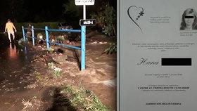 Hana (†48) zemřela při povodních na Olomoucku: První slova zdrcené rodiny
