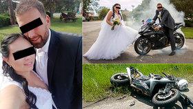 Marián (†31) zemřel manželce před očima! Oba milovali motorky a rychlou jízdu
